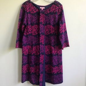 Lilly Pulitzer Knit Dress with Belt Large